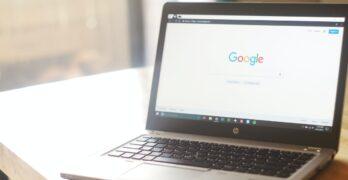 laptop ze strona glowna google